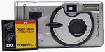 Canon's PowerShot A200 digital camera. Copyright © 2002, The Imaging Resource.  All rights reserved.