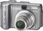 Canon's PowerShot A620 digital camera. Courtesy of Canon, with modifications by Michael R. Tomkins.