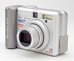 Canon's PowerShot A70 digital camera. Copyright © 2003, The Imaging Resource. All rights reserved.