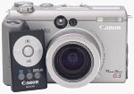 Canon's PowerShot G3 digital camera. Copyright © 2002, The Imaging Resource. All rights reserved.