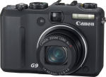 Canon's PowerShot G9 digital camera. Courtesy of Canon, with modifications by Michael R. Tomkins.