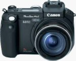 Canon's PowerShot Pro 1 digital camera. Courtesy of Canon, with modifications by Michael R. Tomkins.