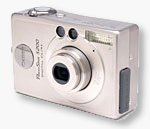 Canon's PowerShot S200 digital camera. Copyright © 2002, The Imaging Resource.  All rights reserved.