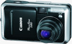 Canon's PowerShot S80 digital camera. Courtesy of Canon, with modifications by Michael R. Tomkins.