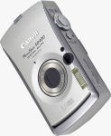 Canon's PowerShot SD430 Digital ELPH Wireless. Courtesy of Canon, with modifications by Michael R. Tomkins.