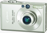 Canon's PowerShot SD450 digital camera. Courtesy of Canon, with modifications by Michael R. Tomkins.