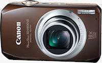 Canon's PowerShot SD4500 IS digital camera. Photo provided by Canon USA Inc.