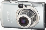 Canon's PowerShot SD700 IS digital camera. Courtesy of Canon, with modifications by Michael R. Tomkins.