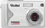 Rollei's Prego dp5200 digital camera. Courtesy of Rollei, with modifications by Michael R. Tomkins.