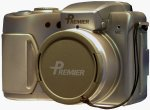 Premier's DC2A30 digital camera mockup. Copyright © 2003, The Imaging Resource. All rights reserved.