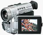 Panasonic's PV-DV401 DV camcorder. Courtesy of Panasonic.