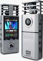 The Zoom Q3HD Handy Video Recorder. Photo provided by Zoom Corp. / Samson Technologies.