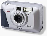 Casio's QV-2100 digital camera. Courtesy of Casio Computer Co. Ltd.