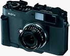 Epson R-D1xG rangefinder digital camera. Photo provided by Epson Sales Japan Corp.