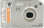 Hewlett Packard's Photosmart R707 digital camera. Copyright © 2004, The Imaging Resource. All rights reserved.