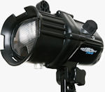 Fantasea's Remora slave flash strobe with flash diffuser and focus light. Photo provided by Fantasea Line.