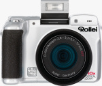 Rollei's dk4010 digital camera. Courtesy of Rollei, with modifications by Michael R. Tomkins.