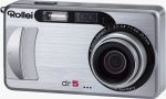 Rollei's dr5 digital camera. Courtesy of Rollei, with modifications by Michael R. Tomkins.