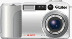 Rollei's dr5100 digital camera. Courtesy of Rollei, with modifications by Michael R. Tomkins.