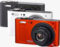 Pentax's Optio RZ18 digital camera. Photo provided by Pentax Imaging Co.