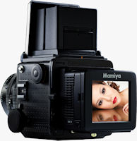 The Mamiya RZ33 large-sensor digital camera kit. Photo provided by MAC Group.