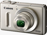 Canon's PowerShot S100 digital camera. Photo provided by Canon USA Inc.