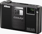 Nikon's Coolpix S1000pj digital camera. Photo provided by Nikon Inc.
