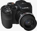 Fujifilm's FinePix S2550HD digital camera, known in some markets as the S2500HD. Photo provided by Fujifilm North America Corp.