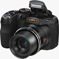 Fujifilm's FinePix S2800HD digital camera. Photo provided by Fujifilm North America Corp.