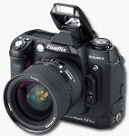 FujiFilm's FinePix S2 Pro digital camera. Courtesy of FujiFilm, with modifications by Michael R. Tomkins.