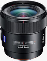The Distagon T* 24mm F2 SSM lens. Photo provided by Sony Europe (Belgium) N.V.