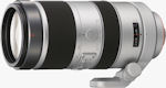 Sony's 70-400mm f/4-5.6 G Series lens. Courtesy of Sony, with modifications by Michael R. Tomkins.