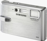 Samsung's i85 digital camera. Courtesy of Samsung, with modifications by Michael R. Tomkins.