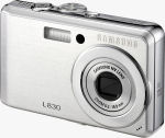 Samsung's L830 digital camera. Courtesy of Samsung, with modifications by Michael R. Tomkins.
