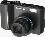 Samsung's S850 digital camera. Courtesy of Samsung, with modifications by Michael R. Tomkins.