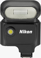 Nikon's Speedlight SB-N5 flash strobe. Photo provided by Nikon Corp.