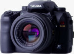 Sigma's SD14 digital SLR. Courtesy of Sigma, with modifications by Michael R. Tomkins.