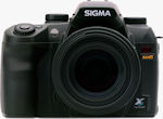 Sigma's SD15 digital SLR. Courtesy of Sigma, with modifications by Michael R. Tomkins.