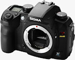 Sigma's SD15 digital SLR. Photo provided by Sigma Corp.