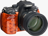 The Sigma SD1 Wood Edition. Photo provided by Sigma Deutschland GmbH.
