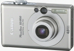 Canon's PowerShot SD300 digital camera. Courtesy of Canon, with modifications by Michael R. Tomkins.