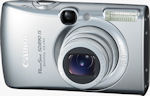 Canon's PowerShot SD890 IS Digital ELPH. Courtesy of Canon, with modifications by Michael R. Tomkins.