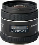 Mamiya's Sekor AF 45mm f/2.8D lens. Courtesy of Mamiya, with modifications by Michael R. Tomkins.
