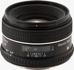 Mamiya's Sekor AF 80mm F/2.8  D L/S lens. Courtesy of Mamiya, with modifications by Michael R. Tomkins.