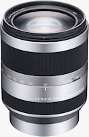 Sony's E 18-200mm F3.5-6.3 OSS lens. Photo provided by Sony Electronics Inc.