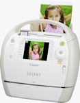 Canon's SELPHY ES40 compact photo printer. Photo provided by Canon USA Inc.
