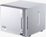 Western Digital ShareSpace storage system. Courtesy of Western Digital, with modifications by Michael R. Tomkins.