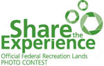 National Park Foundation's Share the Experience promo logo.