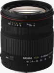 Sigma's 18-200mm F3.5-6.3 DC zoom lens. Courtesy of Sigma, with modifications by Michael R. Tomkins.