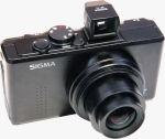 Sigma's DP1 digital camera. Copyright © 2007, The Imaging Resource. All rights reserved.